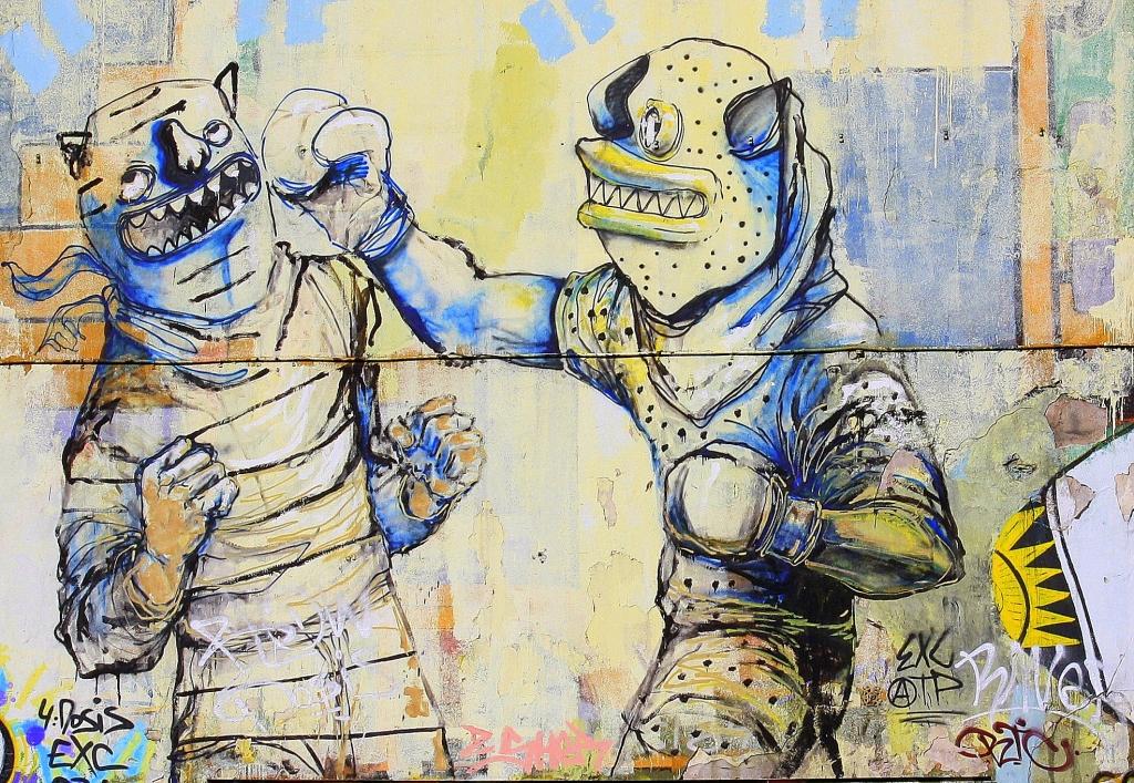 Buenos Aires street art graffiti Jaz buenosairesstreetart.com