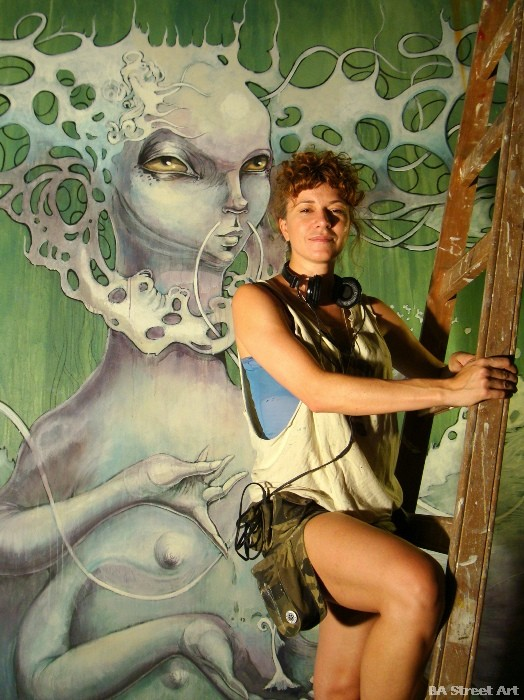 Georgina Ciotti artista buenos aires buenosairesstreetart.com