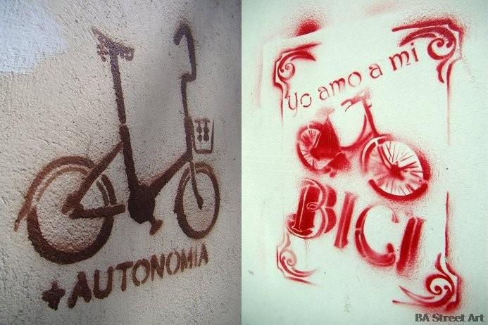bici estencils street art graffiti buenos aires buenosairesstreetart.com