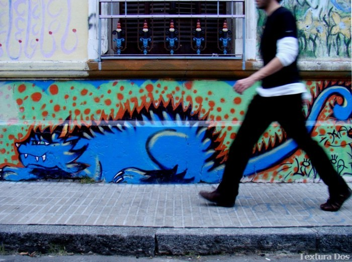 graffiti buenos aires street art murales gato stencil colegiales © BA Street Art