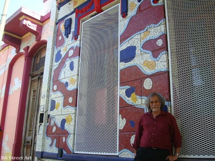 marino santa maria artista calle lanin barracas buenos aires street art buenosairesstreetart.com taller