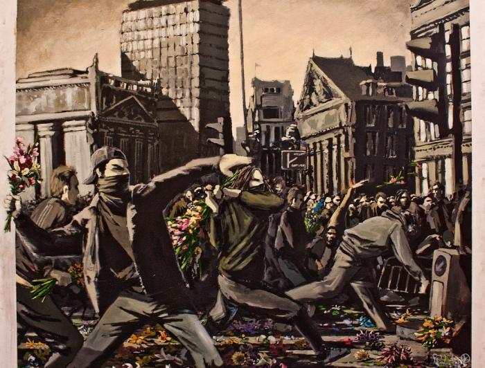 banksy MOCA buenos aires street art buenosairesstreetart.com BA Street Art