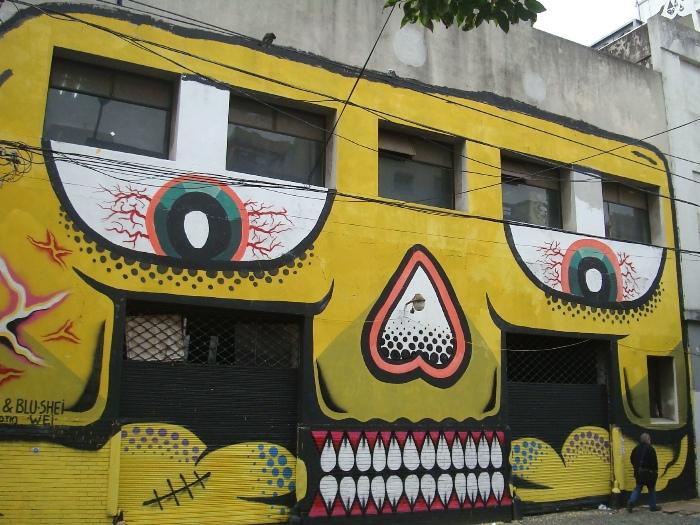 grolou blu shei wei street arte BA buenos aires street art buenosairesstreetart.com