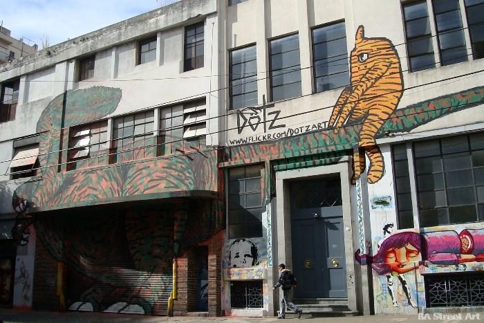 dotz art street art buenos aires murales buenosairesstreetart.com