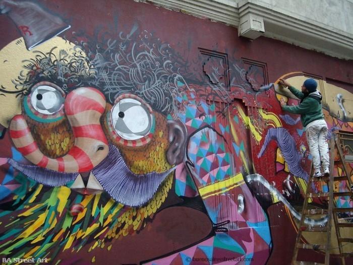 buenos aires graffiti tour roma street artist buenosairesstreetart.com