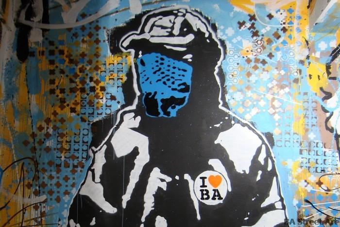 i love BA buenos aires graffiti stencil buenosairesstreetart.com