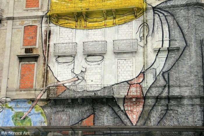 os gemeos blu lisbon crono festival buenosairesstreetart.com © Buenos Aires Street Art