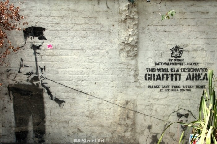 Banksy London Cargo policeman stencil cop © buenosairesstreetart.com