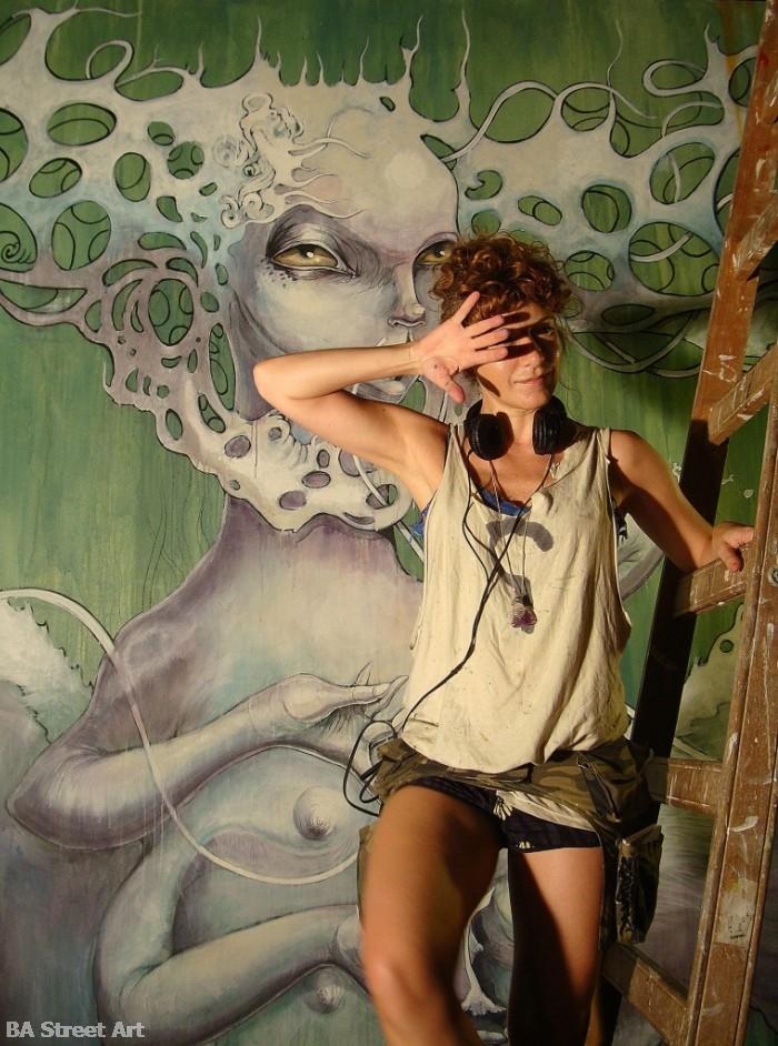 Georgina Ciotti artista argentina buenos aires buenosairesstreetart.com