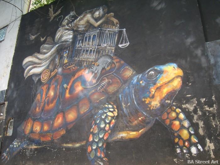 Kol-kir murales Villa Crespo buenos aires street art murals buenosairesstreetart.com