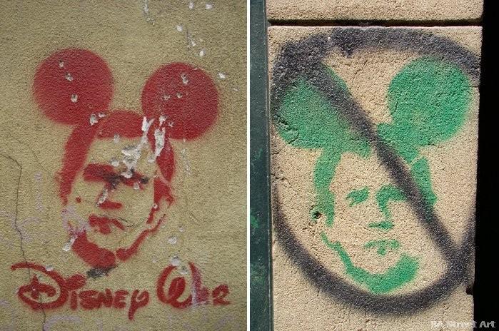 buenos aires graffiti george bush stencils argentina buenoairesstreetart.com