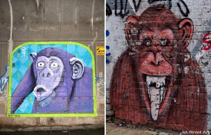 graffiti buenos aires ice lucho gatti monos buenosairesstreetart.com