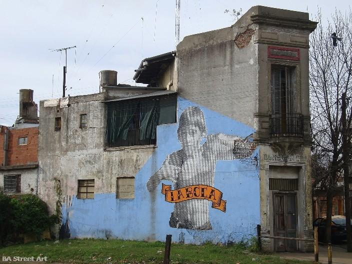 Boca graffiti buenos aires © buenosairesstreetart.com BA Street Art