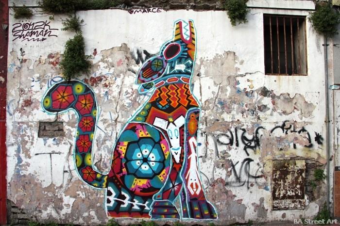 buenos aires graffiti tour shaman buenosairesstreetart.com