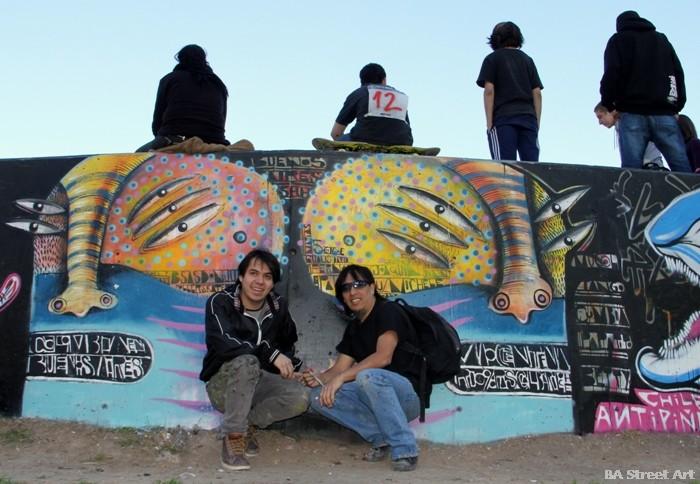 graffiti tour buenos aires rodez y malegria buenosairessstreetart.com