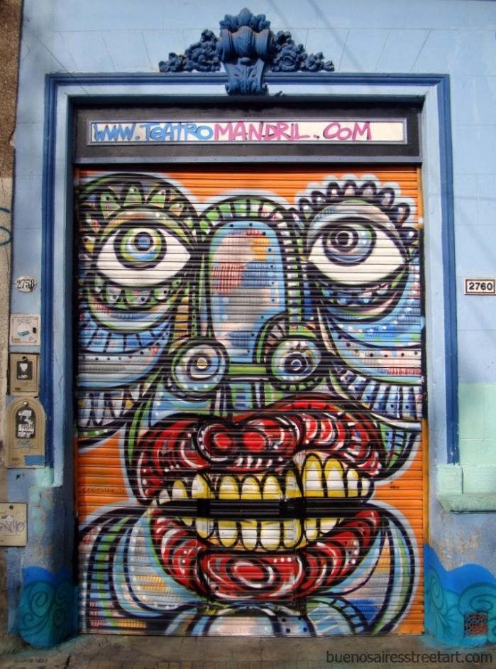 teatro mandril buenos aires street art buenosairestreetart.com