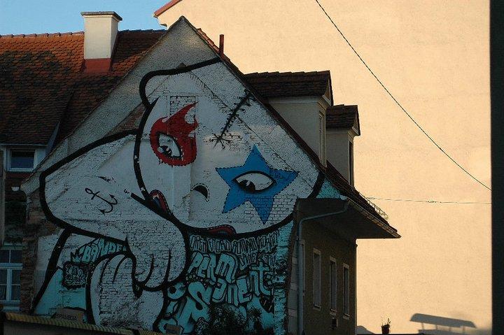 Graz graffiti Austria buenosairesstreetart.com