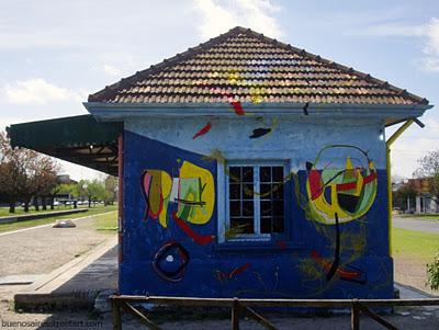 La Plata Estacion Circunvalacion street art buenos aires buenosairesstreetart.com