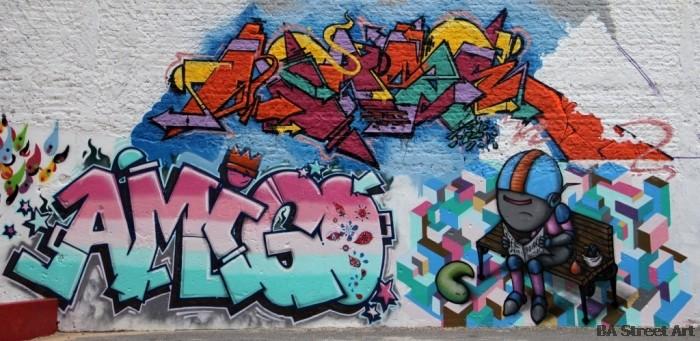 buenos aires graffiti nerf robot buenosairesstreetart.com BA Street Art