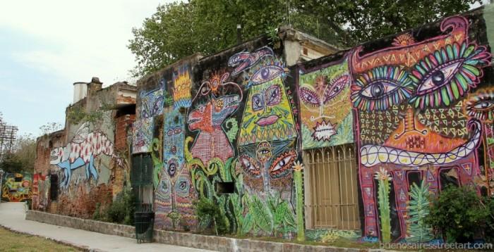 buenos aires graffiti tour malegria street art buenosairesstreetart.com