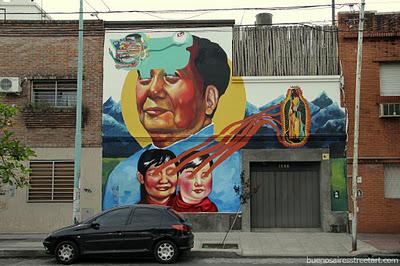 mao tse tung mural buenos aires ever buenosairesstreetart.com