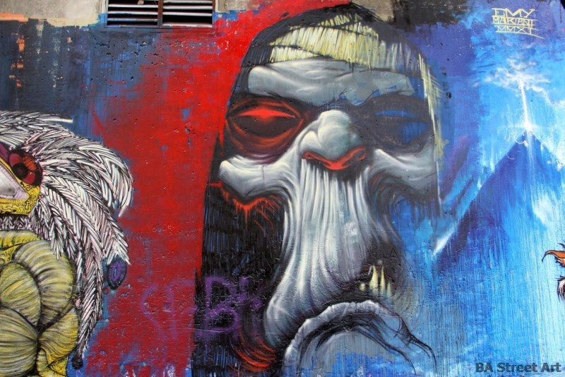 Emy Mariani graffiti artist grafiti buenos aires street art tour buenosairesstreetart.com