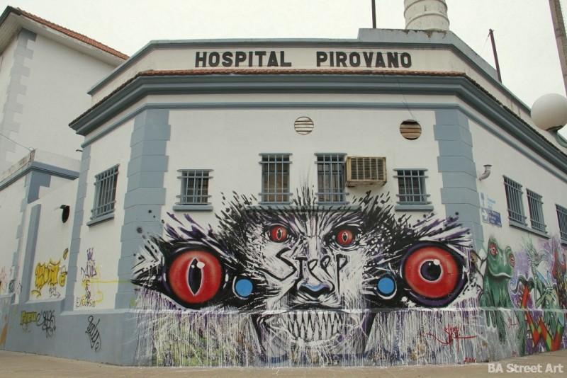 Hospital Pirovano pinta bien buenos aires street art