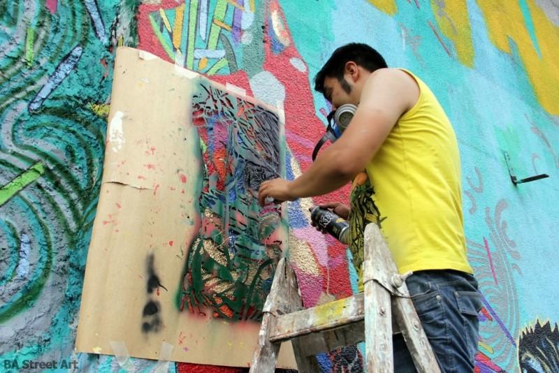 stencil art buenos aires street art argentina graffiti murales buenosairesstreetart.com