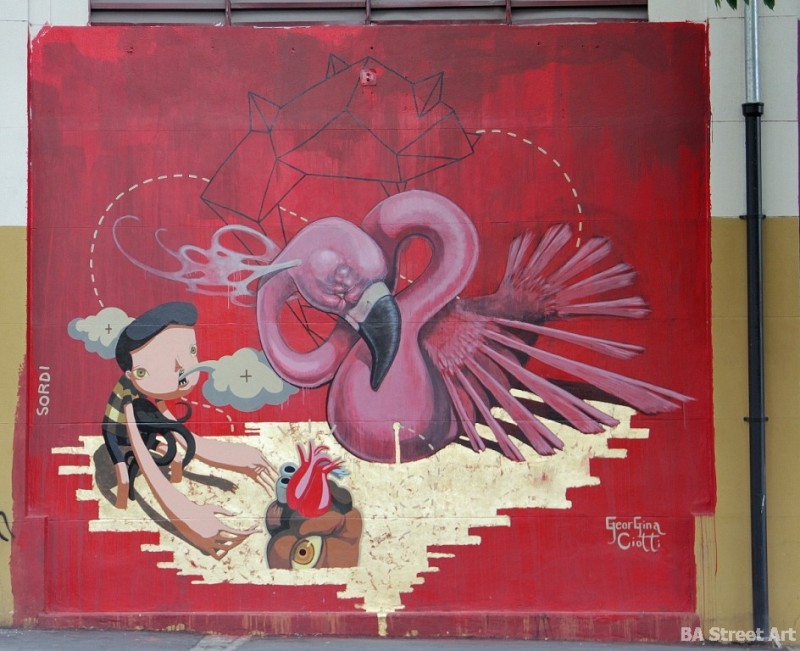 Georgina Ciotti muralista buenos aires meeting of styles argentina alejandro sordi buenosairesstreetart.com