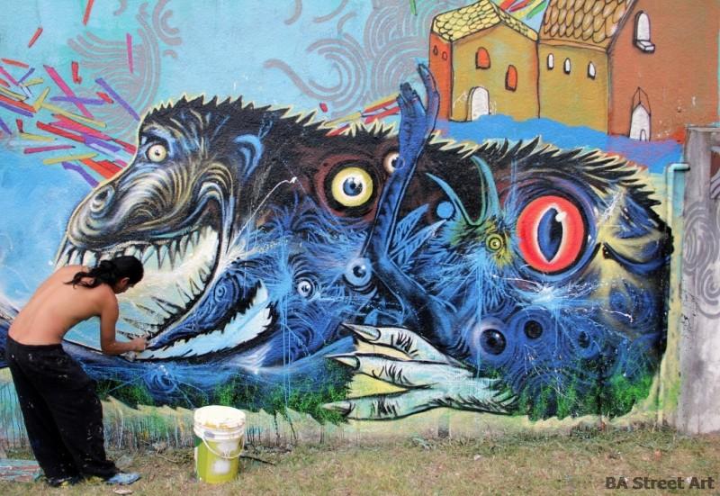 Steep street artist ecuador