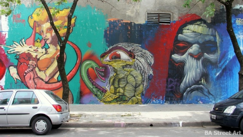 graffiti tour buenos aires tour BA Street Art buenosairesstreetart.com thundercats murales bater emy mariani
