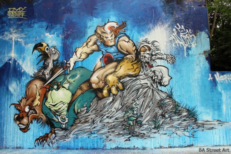 Thundercats graffiti buenos aires street art tour BA Street Art buenosairesstreetart.com