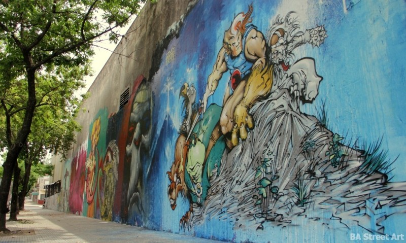 buenos aires graffiti tour argentina Thundercats art buenosairesstreetart.com