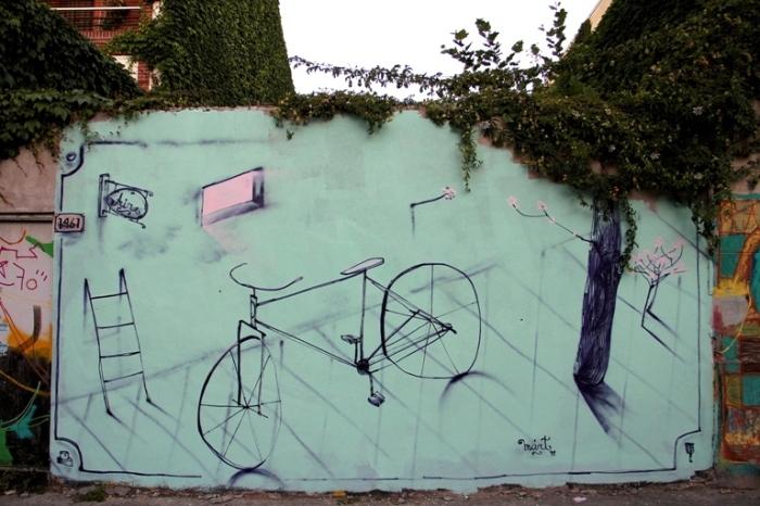 bicycle street art buenos aires buenosairesstreet art.com