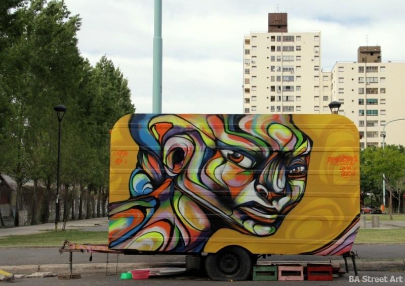 caravan graffiti