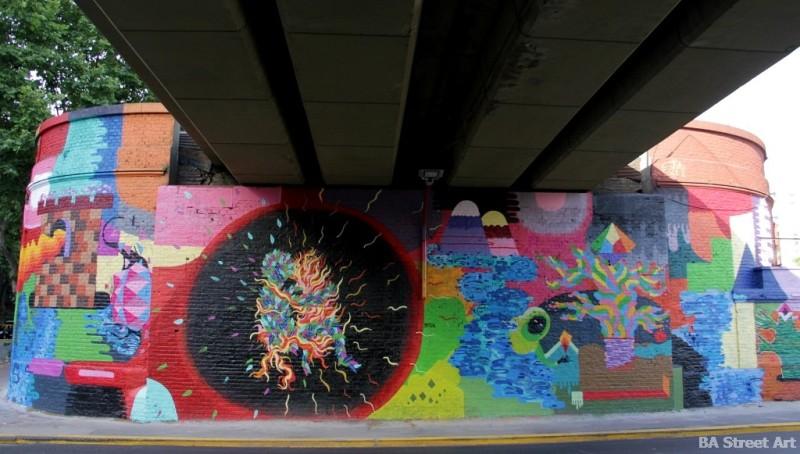 graffiti buenos aires bridge BA Street Art