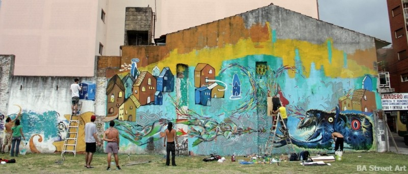 buenos aires wall street art mural argentina muralismo buenosairesstreetart.com