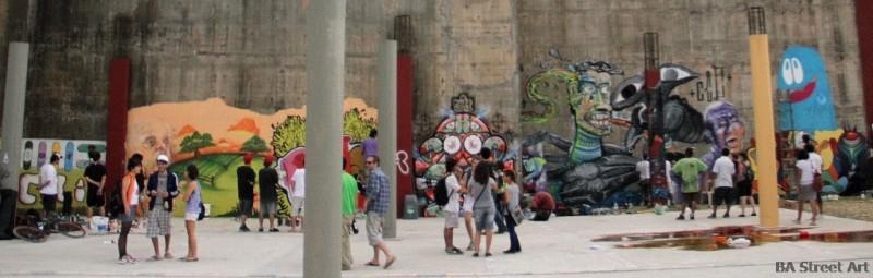 graffiti la plata argentina aerosol festival