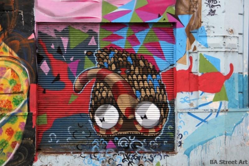 buenos aires graffiti street art argentina