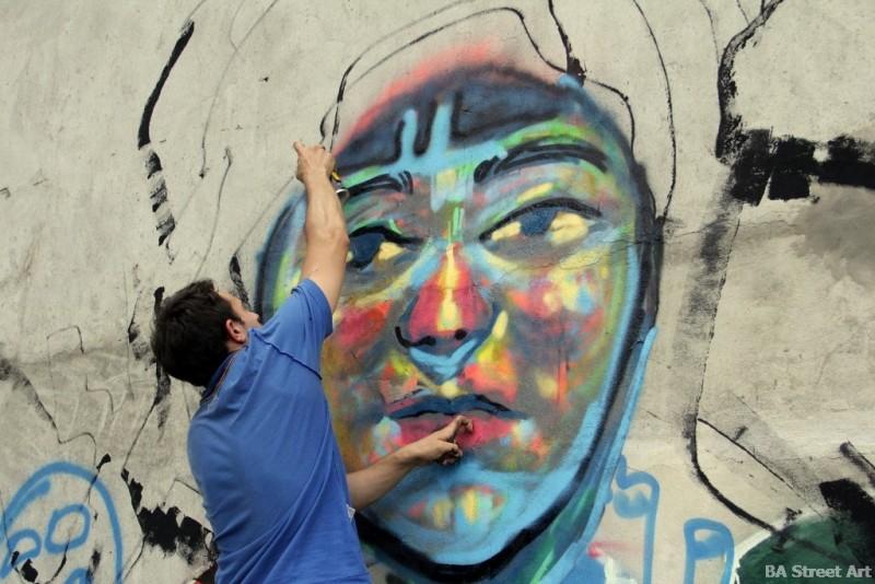 graffiti la plata aerosol festival street art buenos aires