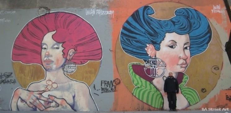 Buenos Aires graffiti fotos buenos aires street art tour lean frizzera © BA Street Art buenosairesstreetart.com