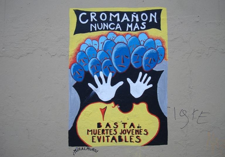 Cromanon graffiti BA Street Art buenosairesstreetart.com