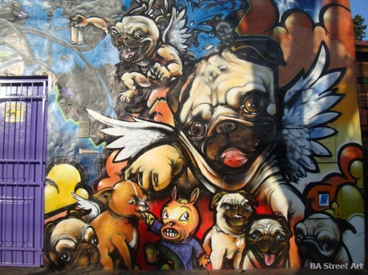 Dame Damian Morales Cabe artistas buenos aires graffiti tour © BA Street Art buenosairesstreetart.com