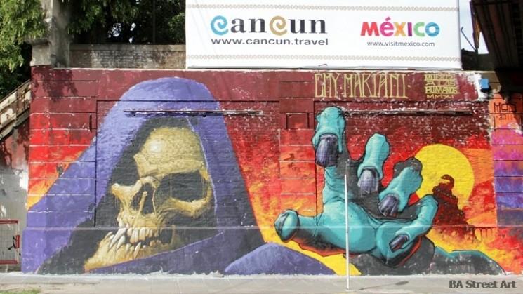 Emy Mariani artist buenos aires graffiti murales © BA Street Art Tours buenosairesstreetart.com