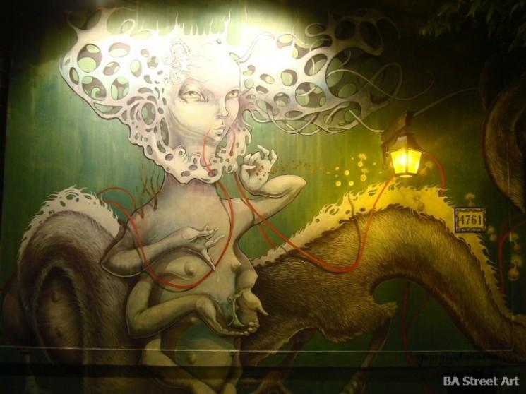 Georgina Ciotti artista buenos aires street art murales © BA Street Art buenosairesstreetart.com