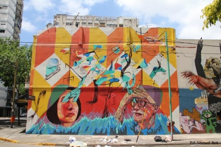 buenos aires graffiti mart ever poeta decertor © BA Street Art Tours buenosairesstreetart.com