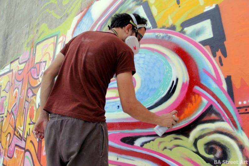 Nice Naranja interview street artist bogota colombia BA Street Art Tours buenosairesstreetart.com