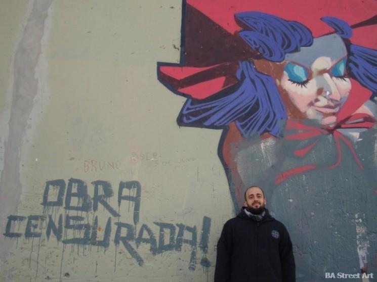 Lean Frizzera street art buenos aires graffiti argentina © BA Street Art  buenosairesstreetart.com