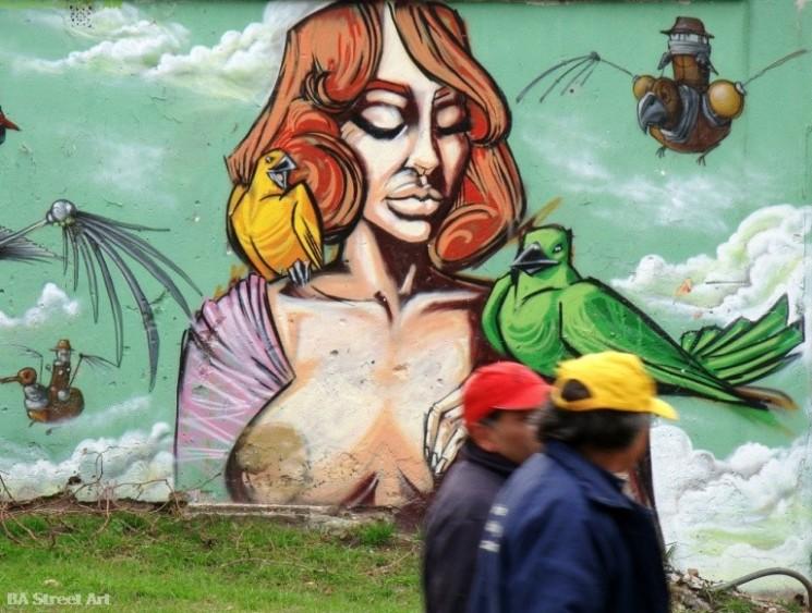 Jaz street artist Lean Frizzera buenos aires graffiti tour argentina photos © BA Street Art buenosairesstreetart.com