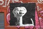 E.T. graffiti the extra terrestrial buenos aires street art buenosairesstreetart.com